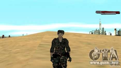 Soldado HD para GTA San Andreas quinta pantalla