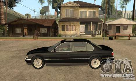 BMW E38 750IL para GTA San Andreas left