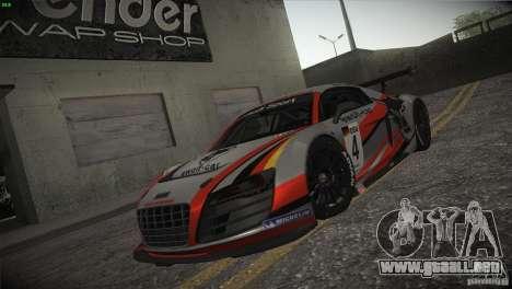 Audi R8 LMS para las ruedas de GTA San Andreas