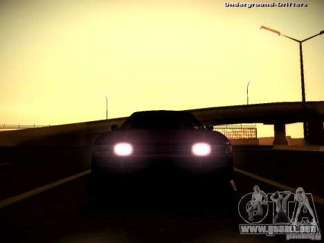 Nissan Silvia S13 Tandem Of DIE para visión interna GTA San Andreas