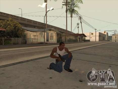Nuevo Pack de armas nacionales para GTA San Andreas sucesivamente de pantalla