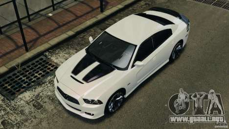 Dodge Charger SRT8 2012 v2.0 para GTA 4