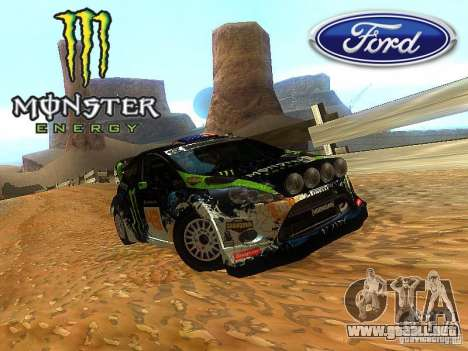 Ford Fiesta RS WRC 2012 para GTA San Andreas