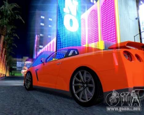 Real World ENBSeries v5.0 Final para GTA San Andreas sucesivamente de pantalla