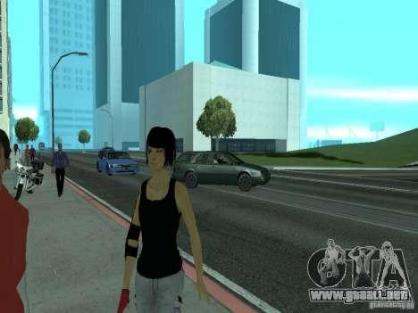Mirrors Edge Faith para GTA San Andreas