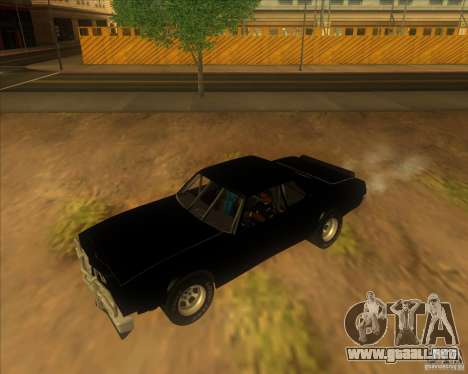 Jupiter Eagleray MK5 para GTA San Andreas left