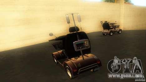 Elektroscooter - Speedy para visión interna GTA San Andreas