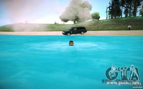 Agua HD para GTA San Andreas sexta pantalla