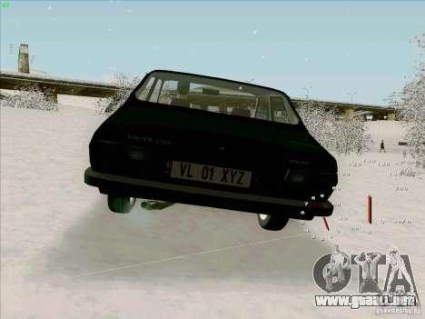 Dacia 1310 Sport para GTA San Andreas vista posterior izquierda