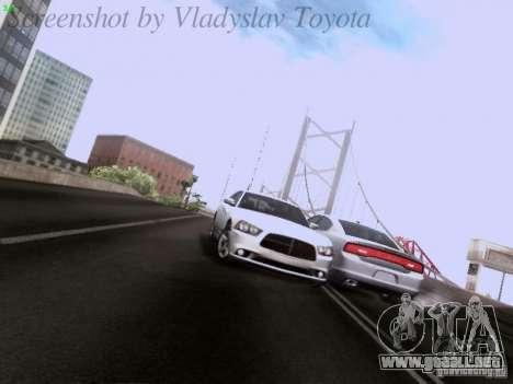 Dodge Charger 2013 para vista inferior GTA San Andreas