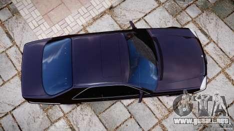 Mercedes-Benz 600SEC C140 1992 v1.0 para GTA 4 visión correcta