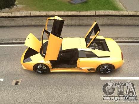 Lamborghini Murcielago LP640 2007 para GTA 4 Vista posterior izquierda