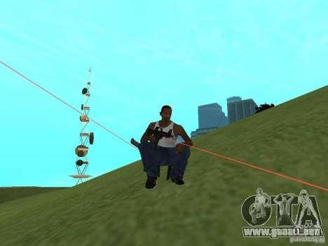 Laser Weapon Pack para GTA San Andreas quinta pantalla