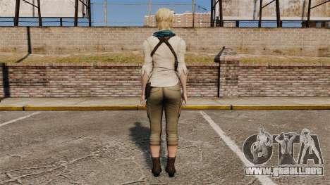 Sherry Birkin para GTA 4 tercera pantalla