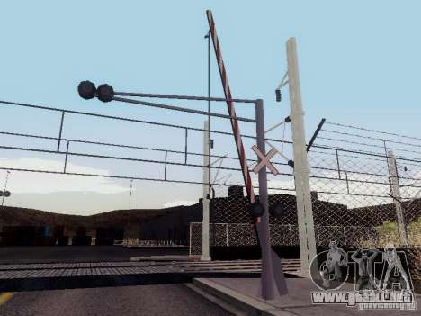 FERROCARRIL cruzando RUS V 2.0 para GTA San Andreas