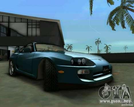 Toyota Supra para GTA Vice City visión correcta