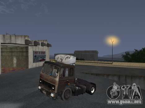 5551 MAZ koljós para la visión correcta GTA San Andreas
