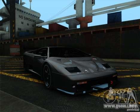 Lamborghini Diablo GTR V1.0 1999 para GTA San Andreas left