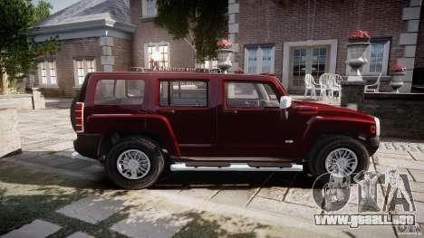 Hummer H3 para GTA 4 left