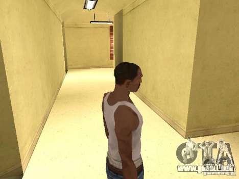 La entrada para el Hospital de Los Santos para GTA San Andreas quinta pantalla
