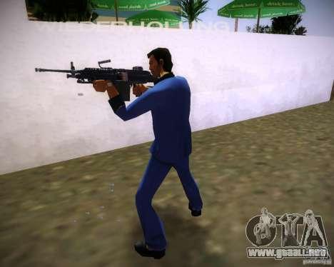 FN M249 para GTA Vice City tercera pantalla