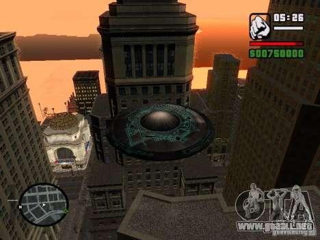 UFO para la visión correcta GTA San Andreas