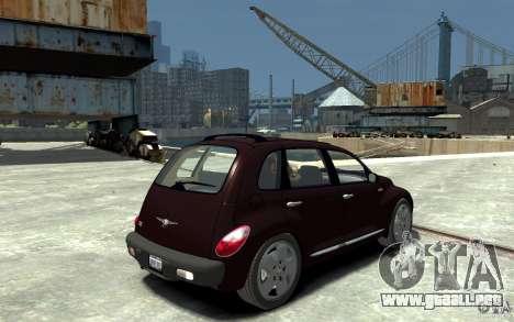 Chrysler PT Cruiser para GTA 4 visión correcta