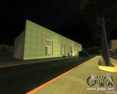 Una bulliciosa estación de tren en San Fierro para GTA San Andreas