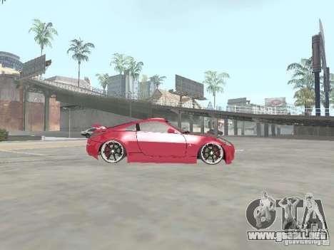 Nissan 350Z v2 para GTA San Andreas left