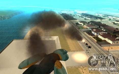 Metal gear ray para GTA San Andreas tercera pantalla