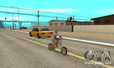 BMX Long 2 New Wheel para la visión correcta GTA San Andreas