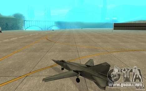 MiG-23 a los Flogger para la visión correcta GTA San Andreas