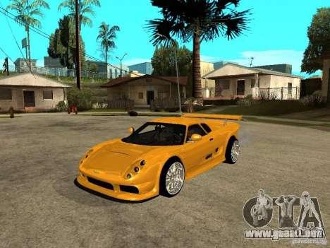 Noble M12 GTO Beta para GTA San Andreas