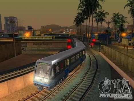Nueva señal de tren para GTA San Andreas quinta pantalla