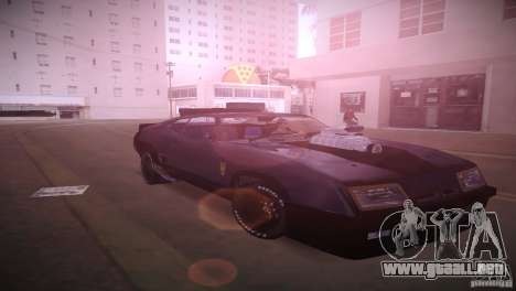 Ford Falcon GT Pursuit Special V8 Interceptor 79 para GTA Vice City vista posterior