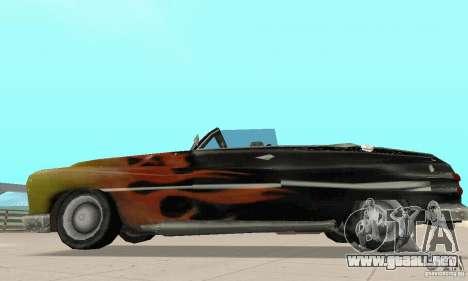 Flat Out Style para la visión correcta GTA San Andreas
