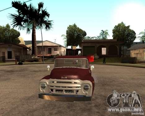 ZIL 130 Tempe ardiente Final para la visión correcta GTA San Andreas