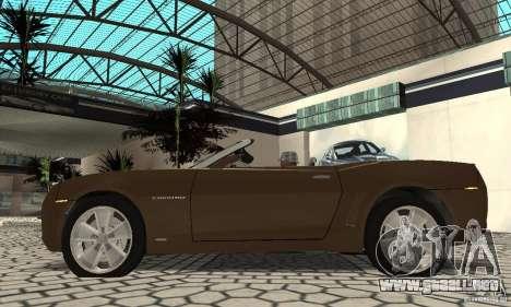 Chevrolet Camaro Concept 2007 para la visión correcta GTA San Andreas