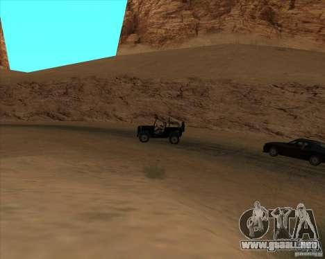 Duelo de vaquero para GTA San Andreas segunda pantalla