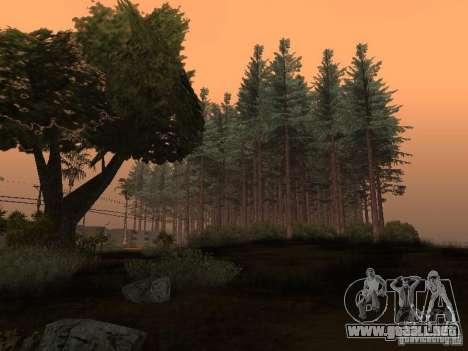 Bosque en Las Venturas para GTA San Andreas