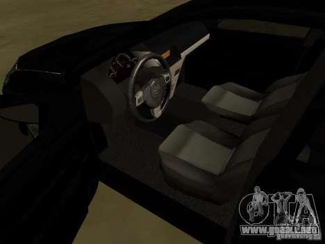 Chevrolet Vectra Elite 2.0 para vista lateral GTA San Andreas