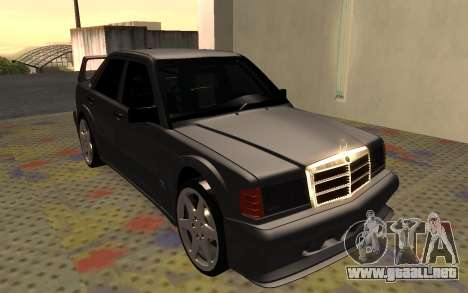 Mercedes-Benz 190E Evolution II 2.5 1990 para GTA San Andreas left