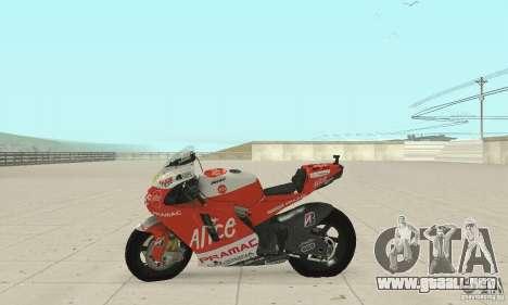 Ducati Alice GP para la visión correcta GTA San Andreas