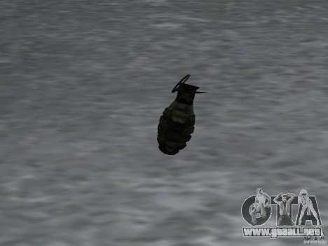 Pak versión doméstica armas 4 para GTA San Andreas novena de pantalla