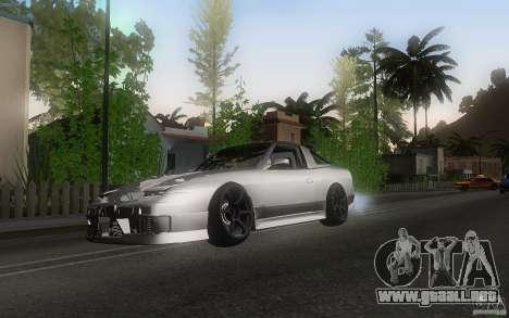 Nissan 180sx v2 para GTA San Andreas left