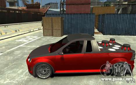 Dacia Pick-up Tuning para GTA 4 left