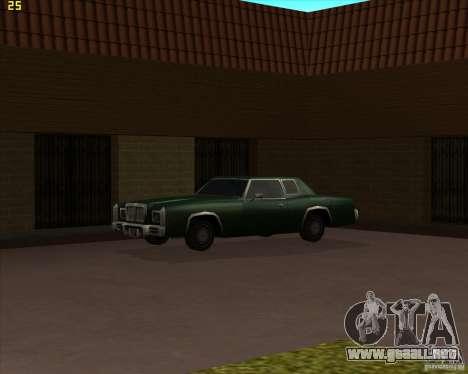 Car in Grove Street para GTA San Andreas décimo de pantalla