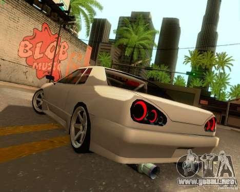 Elegy Drift Korch para la vista superior GTA San Andreas
