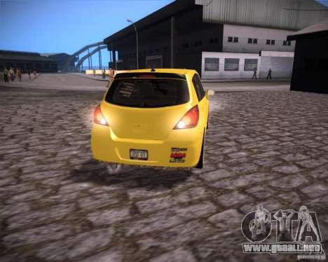 Nissan Versa Tuned para la visión correcta GTA San Andreas