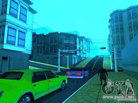 Nuevo Color Mod para GTA San Andreas octavo de pantalla